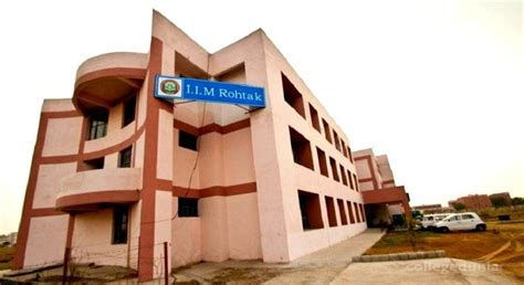 Mba Colleges In Rohtak by Indian Institute Of Management Iim Rohtak Courses