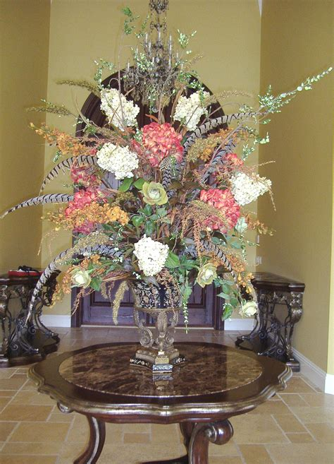 silk flower arrangements for dining room table artificial floral arrangements for dining table designs