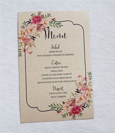 menu card layout ideas best 25 menu card design ideas on pinterest great