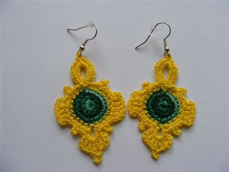 Handmade Accessories Tutorial - 2253 best images about crochet jewellery patterns