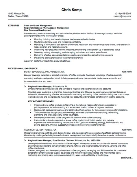 sle management resume 10 sales resume sles hiring managers will notice
