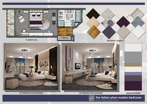 Create 3d Interior Design Presentations Angelo Aguilar Interior Design Portfolio The Italian Plum