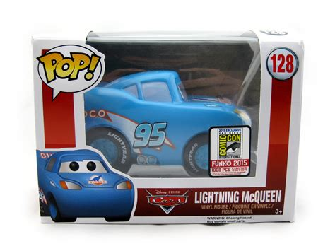 Funko Pop Disney Cars 3 Lightning Mcqueen dan the pixar fan cars dinoco lightning mcqueen funko