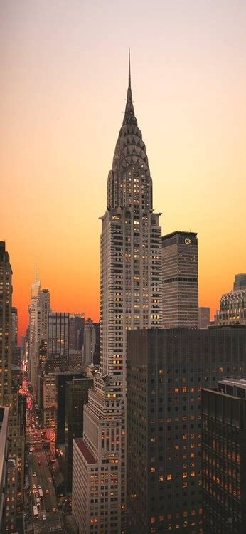 Chrysler Building New York City by The Chrysler Building New York City New York The Big