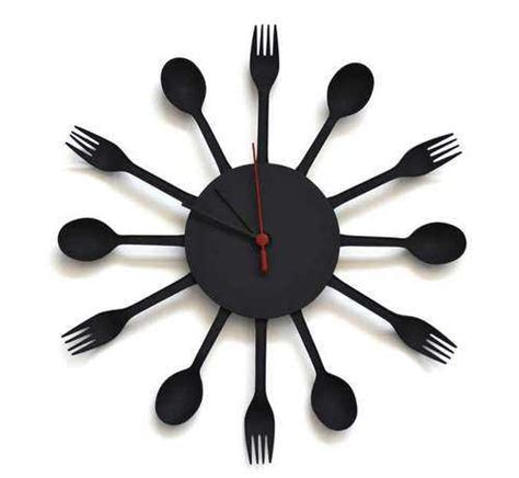designer kitchen clocks 33 ways to add modern wall clock to kitchen decor and cure