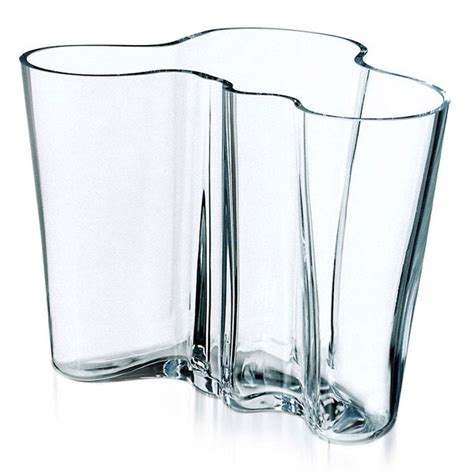 alvar aalto vase alvar aalto vase transparent 160 mm alvar aalto