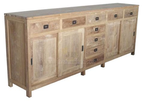 Furniture Sideboards solid teak wood sideboard furniture contemporary buffets and sideboards other metro by