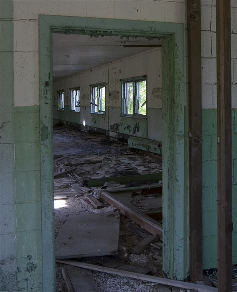 abandoned site abandoned nike missile site newport mi