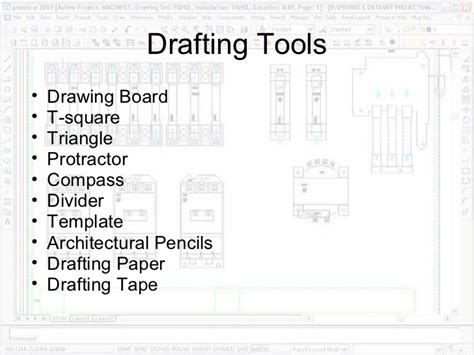 5 Drawing Instruments And Their Uses by Drafting Equipment And Procedures