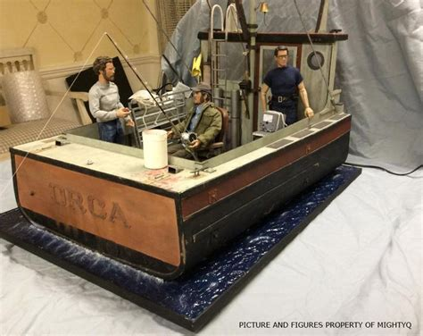 the open boat figures of speech 1 6 custom diorama quot orca quot from jaws osw one sixth
