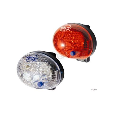 Blinky Lights by Planet Bike Blinky Safety 1 Led Bicycle Light Set Cycles