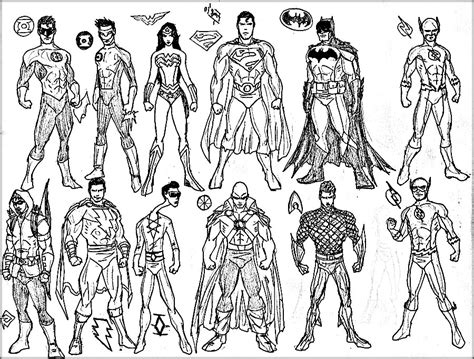 the marvel super heroes christmas coloring book page many superheroes free coloring page adults superheros