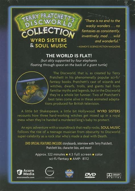 terry pratchetts discworld collectors 147321811x terry pratchett s discworld collection wyrd sisters soul music dvd dvd empire