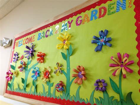 Garden Bulletin Board Ideas My Welcome Back 2 My Garden Bulletin Board My Classroom Garden Bulletin Boards
