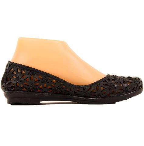 jelly shoes flats womens jelly ballet flats slip on shoes crochet hollow