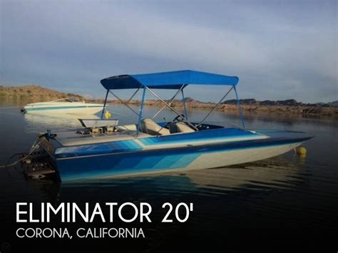 used eliminator boats sale ca eliminator boats for sale in california united states
