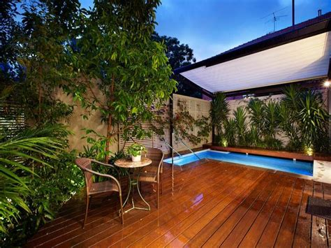backyard living pools outdoor living design with pool from a real australian