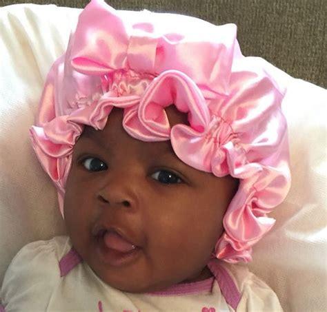 bonnet haircut pink protective baby bonnet by avajamescloset on etsy