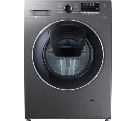 samsung washing machine buy samsung addwash ww80k5410ux washing machine graphite free delivery currys
