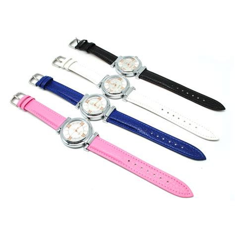 Mortima Jam Tangan Kasual Wanita Leather Model 7 Black mortima jam tangan kasual wanita leather model 7 pink jakartanotebook