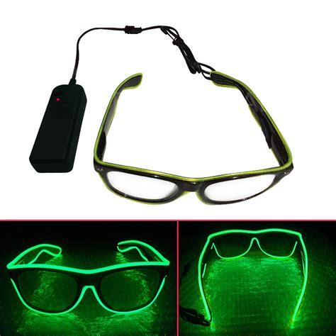 Kacamata Dj Glow Led Murah kacamata dj glow led green jakartanotebook