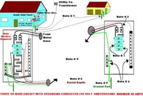 wiring diagram for detached garage get free image about