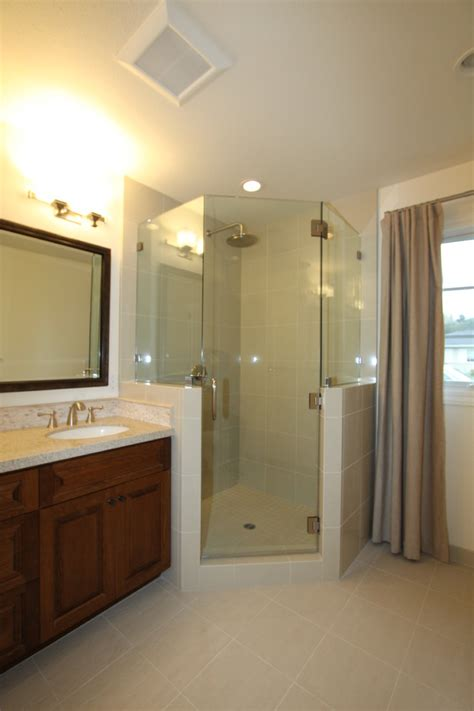 Bathroom Corner Shower Corner Shower Dimensions Bathroom Traditional With Bathroom Mirror Claw Foot Tub