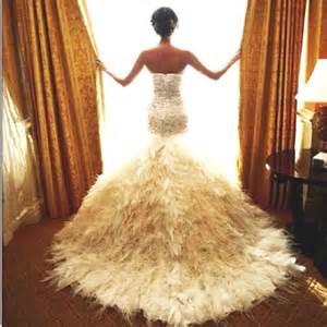 Feather wedding dress alissa s wedding pinterest