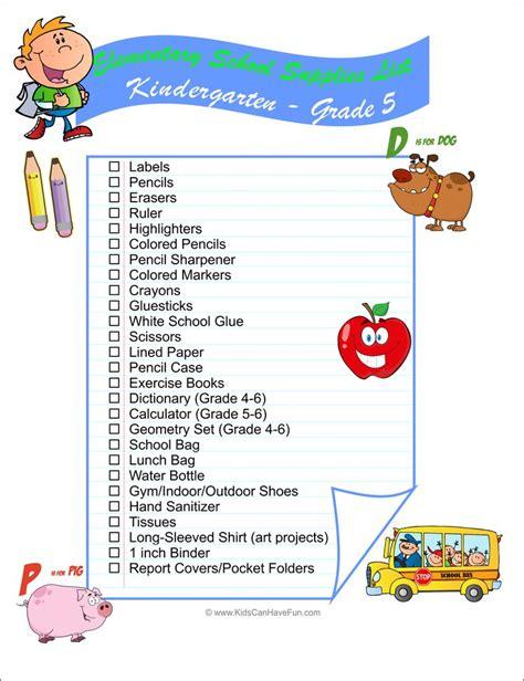 46 Best Back To School Activities Printables Labels