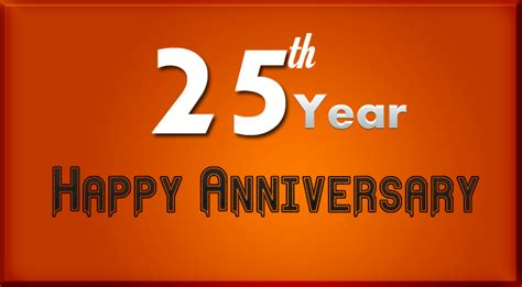 Wedding Anniversary Wishes 25 Years by 25th Wedding Anniversary Wishes Wishes4lover