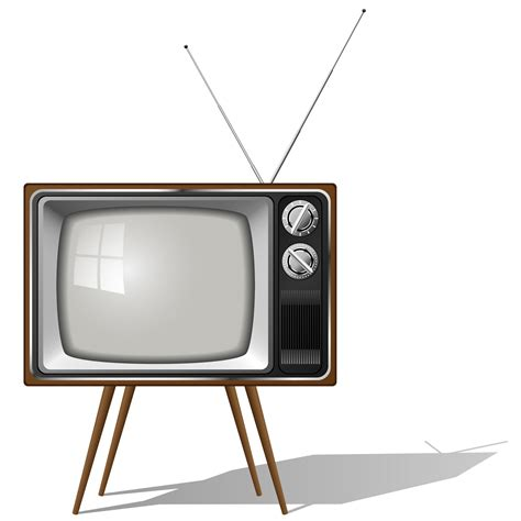 On Television tv white and other business items