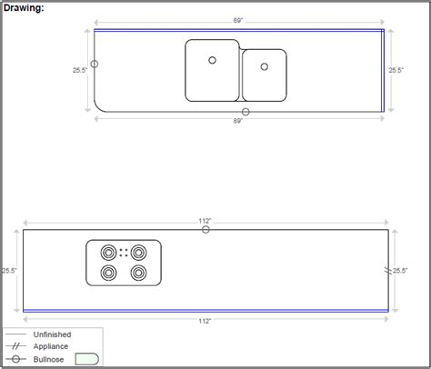 Countertop Drawing Software Bstcountertops Countertop Template Software