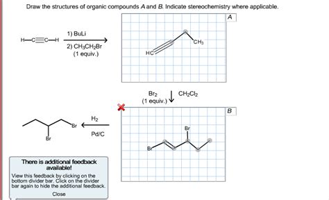 Organic Compound Drawer draw the structures of organic compounds a and b