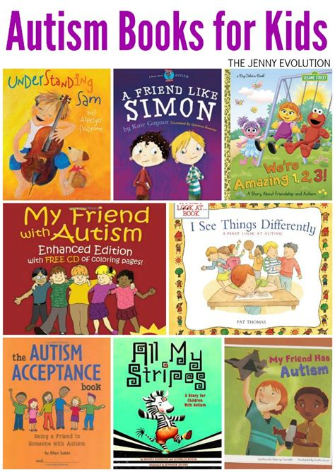 autism books for the evolution