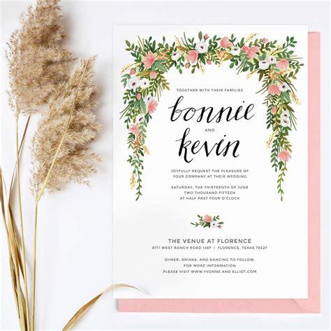 The Wedding Invitation 2017