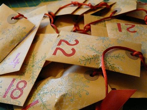 Handmade Calendars Ideas - megity s handmade advent calendar ideas