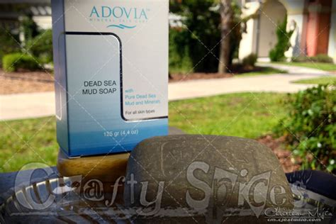 Adovia Dead Sea Mud Soap crafty spices dead sea mud soap for a radiant clear