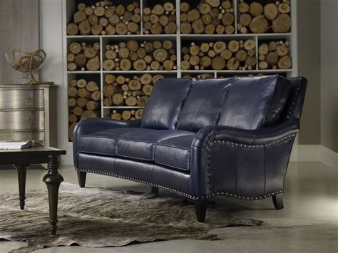 cobalt blue leather sofa 23 best images about bradington young furniture on