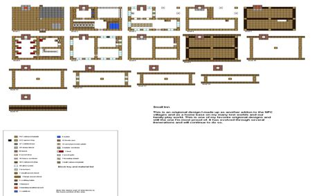 house floor plans blueprints minecraft small house blueprints best house design