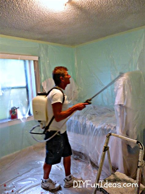 how to remove popcorn ceilings in 30 minutes hometalk