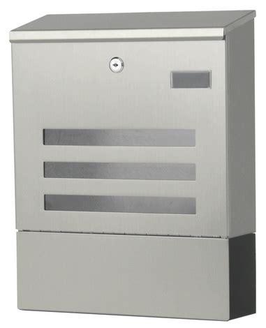 Moderne Briefkasten 918 by Edelstahl Wand Briefkasten Zur Wandmontage B De