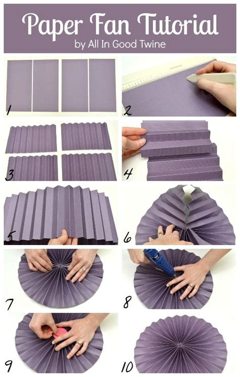 Make Paper Fan - 25 best ideas about paper fans on paper