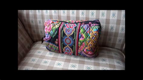 Thanks To Our Sponsors Makeup Bag by Vera Bradley Large Cosmetic Review