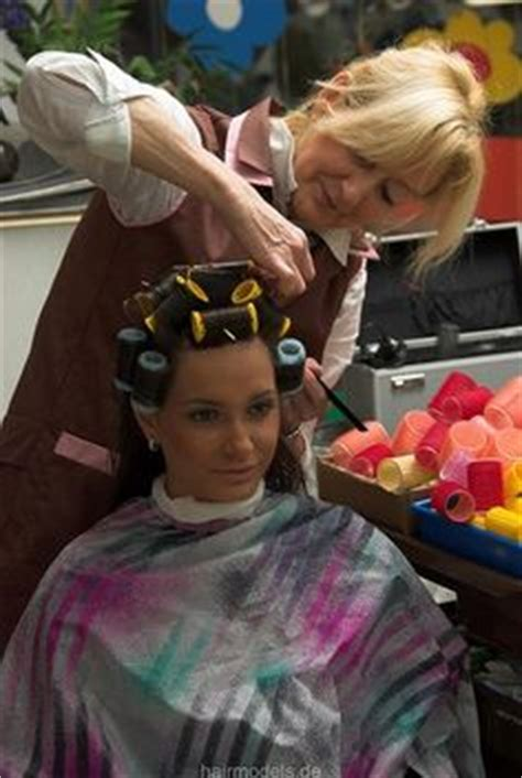 women forced to wear hair curlers take a seat and chairs on pinterest