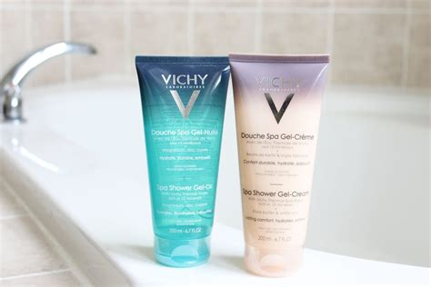 Murah Soap Spa Shower Gel review of vichy s ideal spa shower gel and gel sparkleshinylove