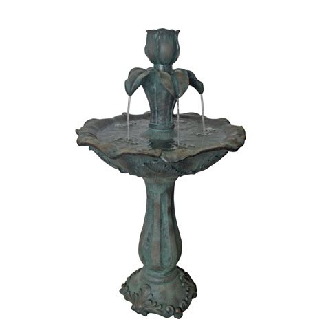 backyard fountains lowes water fountains outdoor lowes