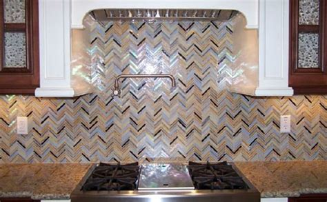 herringbone pattern backsplash tile rainbow herringbone pattern glass kitchen backsplash