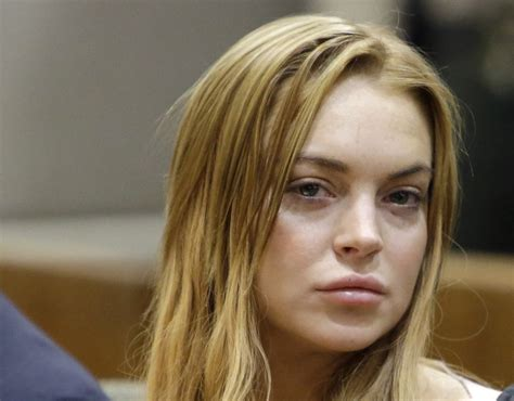 Has Lindsay Lohan by Lindsay Lohan Accused Of Spitting In