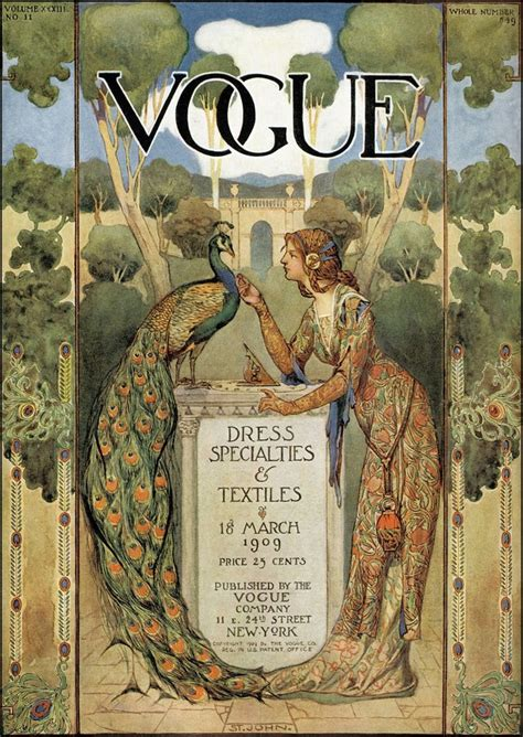 libro in vogue an illustrated revisiting the art of the peacock a golden age fashion fantasy 1894 1920 part two the