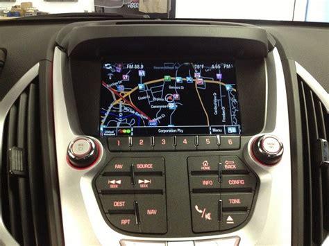 update gmc navigation system 2013 terrain navigation upgrade autos post